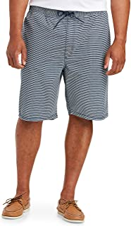 Amazon Essentials Men's Big & Tall Drawstring Walk Short fit by DXL, Navy