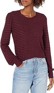 Lucky Brand womens STRIPE CHENNILE TOP Shirt