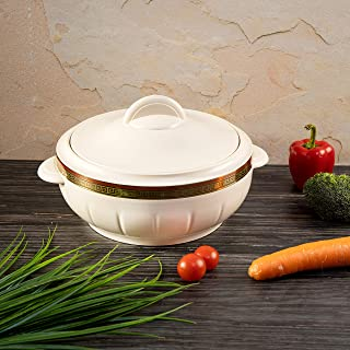 Royalford 2.5L Hot Pot Insulated Food Warmer – Thermal Casserole Dish – Double Wall Insulated Serving Dishes with Lids – T...