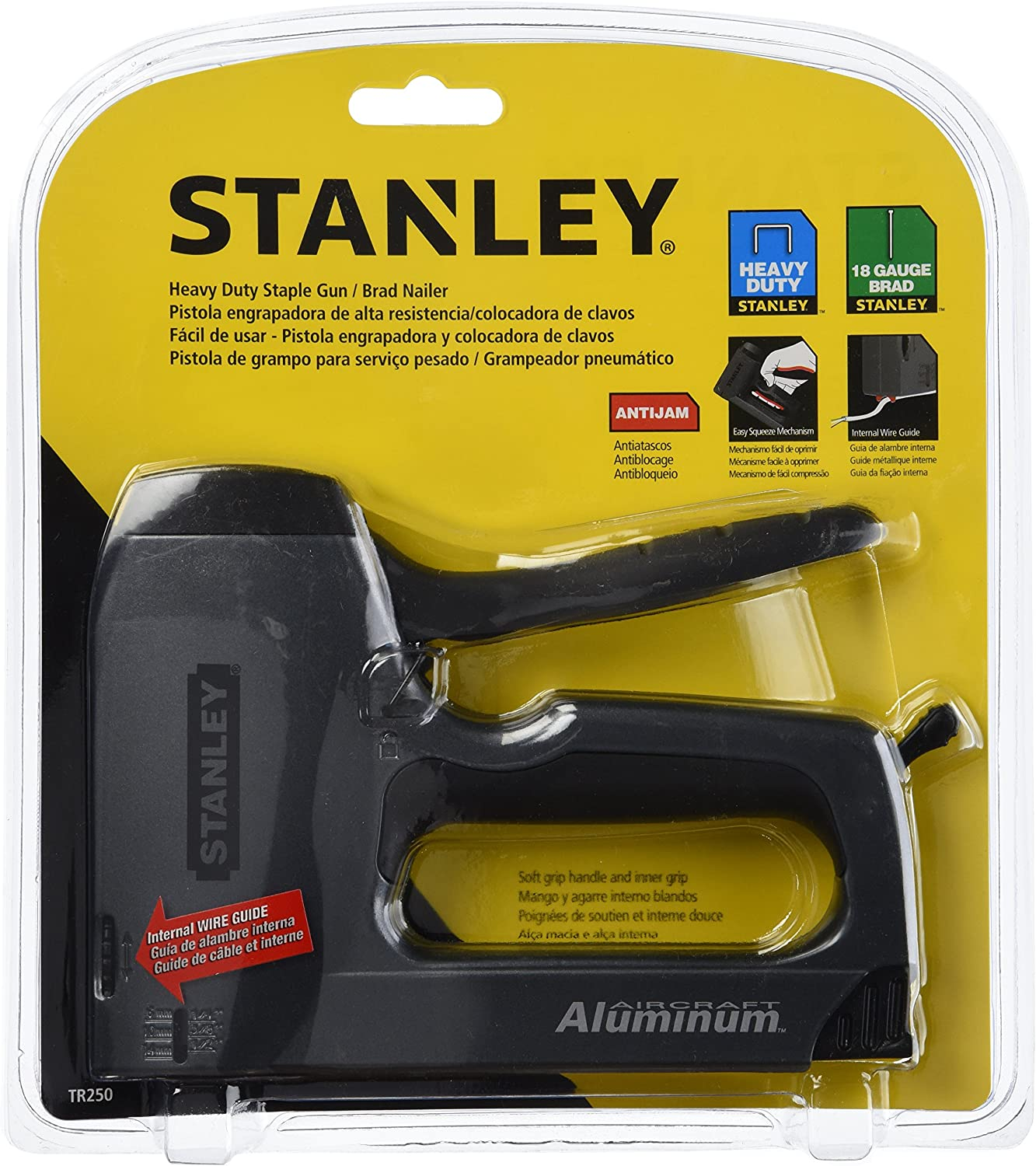 Stanley TR250 Scharfschütze Plus Heavy-Duty Heavy-Duty Heavy-Duty Staple Brad Nail Gun, TR250 B000BR2ERO | Online Outlet Shop
