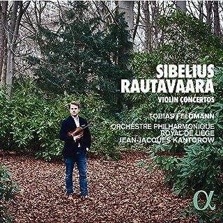 Sibelius & Rautavaara: Violin Concertos