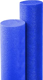 Floating Pool Noodles Foam Tube, Thick Noodles for Floating in The Swimming Pool, Assorted Colors, 52 Inches Long (Blue)