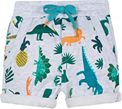 Catimini Cute Baby Boys Dinosaur Fleece Bermuda Shorts