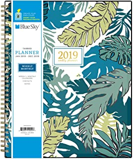 Knightsbridge Blue Sky 2018 Weekly /& Monthly Planner Twin-Wire Binding 8.5 x 11