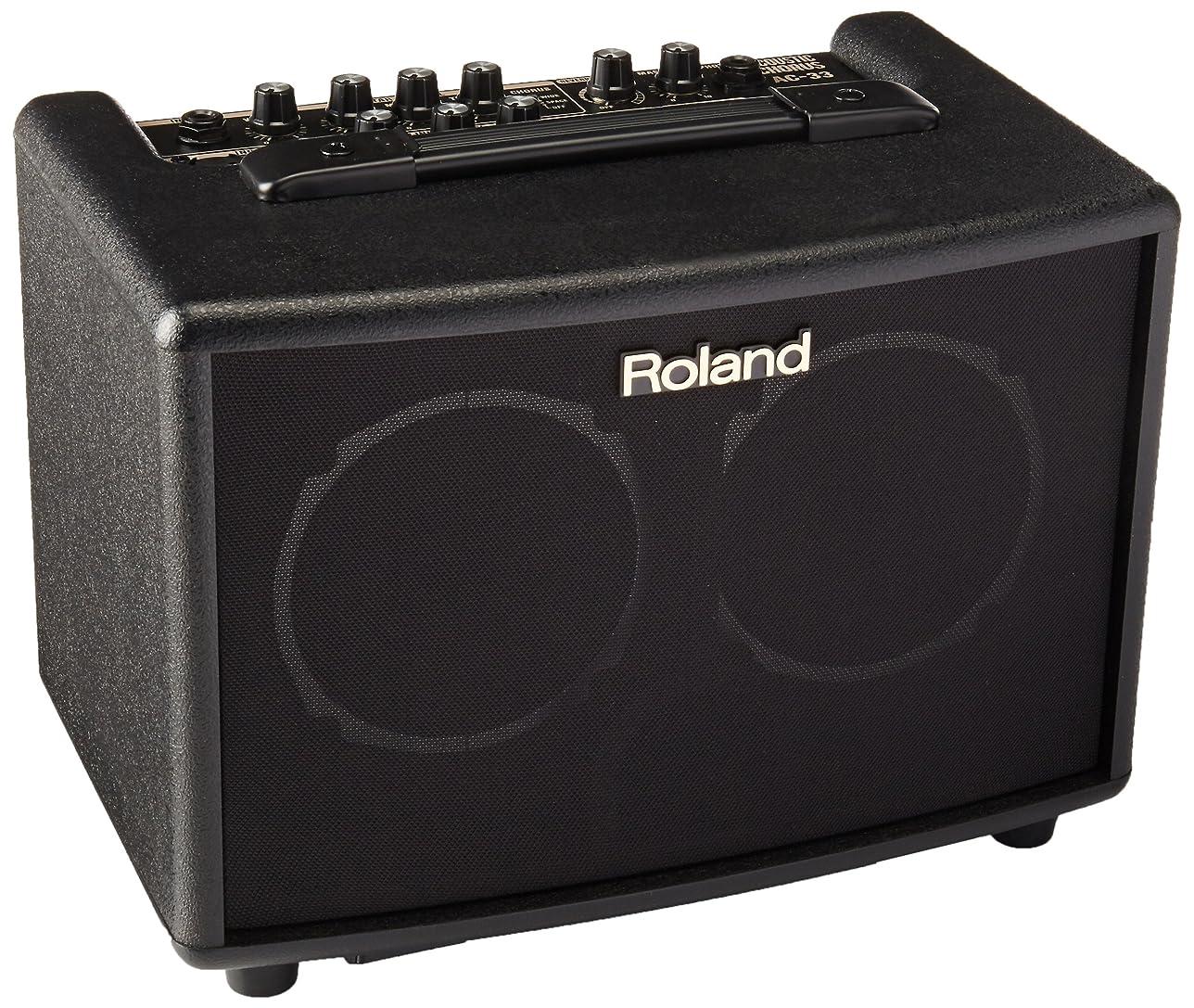 モデレータ階下いつかRoland ローランド アコースティック ギター アンプ 15W+15W ブラック AC-33