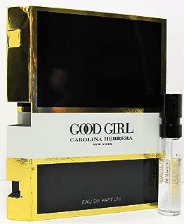 Carolina Herrera Good Girl Eau de Parfum Vial Spray for Women 0.05 oz / 1.5 ml