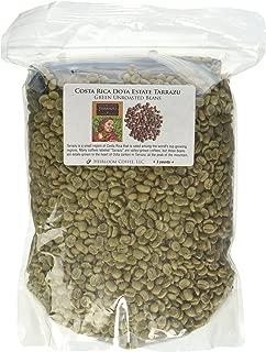 Costa Rica Dota Estate, Green Unroasted Coffee Beans, 3 lb