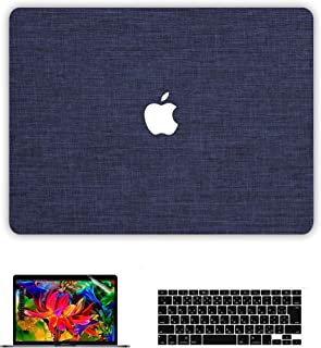 Belk MacBook Air 13 ケース(2010-2017)(A1466/A1369)[日本語 キーボード カバー+液晶保護フィルム+マックブック エア 13.3インチ ハードケース] (ブルー)