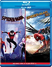 2-Movies Collection: Spider-Man: Into the Spider-Verse + Spider-Man: Homecoming (Blu-ray 3D) (2-Disc)