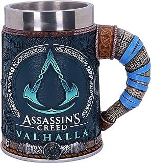 Nemesis Now B5335S0 Officiellt licensierad Assassins Creed Valhalla vikingsspel, harts, W. rostfritt stål, flerfärgad