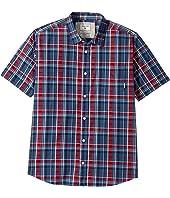 Quiksilver Kids - Everyday Check Short Sleeve Shirt (Big Kids)