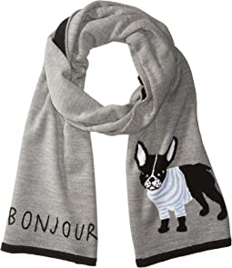 Kate Spade New York - French Bulldog Muffler