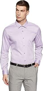 Raymond Men's Solid Regular Fit Formal Shirt