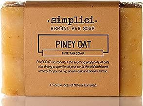 SIMPLICI Piney Oat Pine Tar Bar Soap