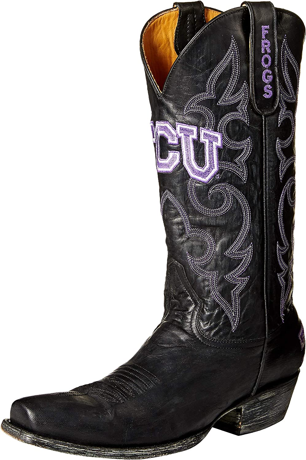 63953c9dc60 NCAA Horned Boots Style Room Board Men's Frogs TCU nybuadac72 ...