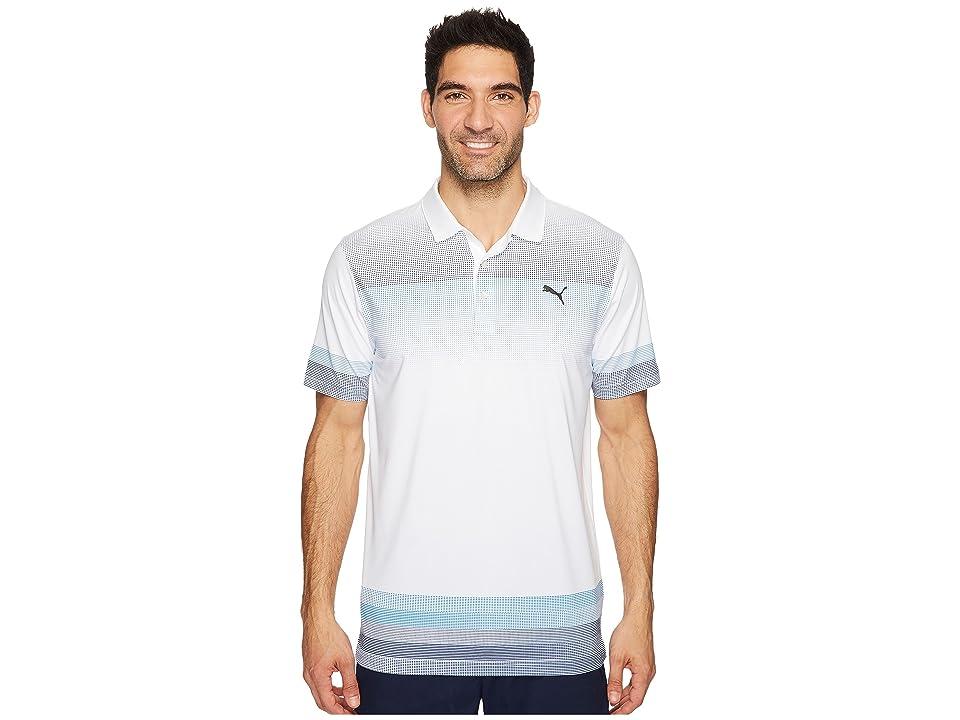 PUMA Golf Untucked Polo (Bright White) Men