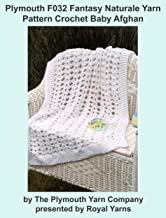 Plymouth F032 Fantasy Naturale Yarn Pattern Crochet Baby Afghan (I Want To Knit)