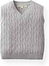 Hope & Henry Boys' V-Neck Sweater Vest