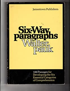 Six-way paragraphs: 100 passages for developing the six essential categories of comprehension