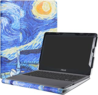 Alapmk Protective Case Cover for 11.6 ASUS VivoBook E203NA E200HA L200HA/Chromebook C201 C201PA Series LaptopStarry Night