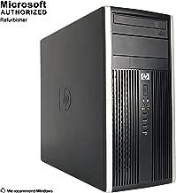 HP Compaq 6300 Pro Minitower PC - Intel Core i5-3470 3.2GHz 8GB 500GB DVDRW Windows 10 Pro (Renewed)