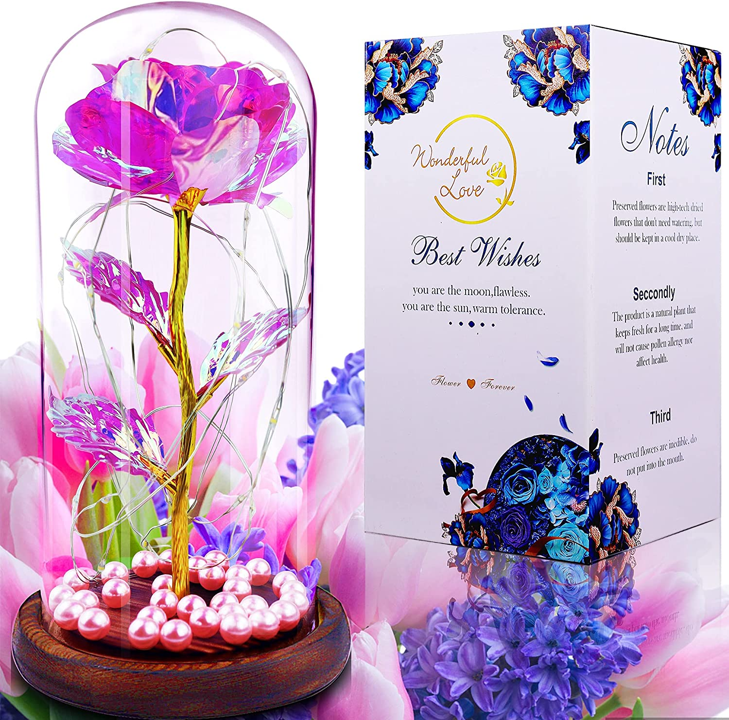 Galaxy Excellent Max 61% OFF Rose Flower Gifts For Mothers Valentines Day Her Birthday