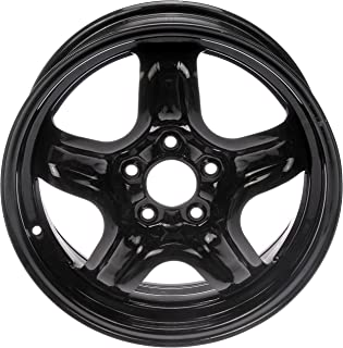"Dorman 939-110 Black Steel Road Wheel 16x6.5""/5x110mm with 40mm Offset"
