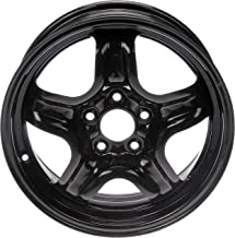 Dorman 939-110 Black Steel Road Wheel 16x6.5