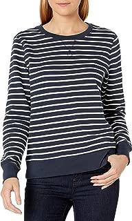 Women's French Terry Fleece Crewneck Sweatshirt