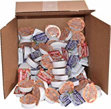 100 Pieces -50 Peanut Butter Packets WITH 25 each Strawberry and Grape Jelly Individual Servings