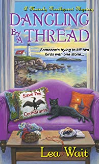 Dangling by a Thread (A Mainely Needlepoint Mystery Book 4)