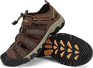 أحذية رياضية للرجال والنساء للمشي في الهواء الطلق صندل مغلق الإصبع, (سيل براون), 38/40 EU