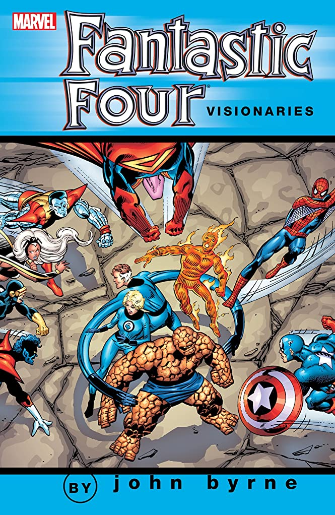 慣性郵便屋さん抜け目がないFantastic Four Visionaries: John Byrne Vol. 2 (Fantastic Four (1961-1996)) (English Edition)