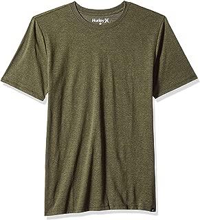 Short Sleeve Staple Tri-Blend Crew Neck Tee Shirt
