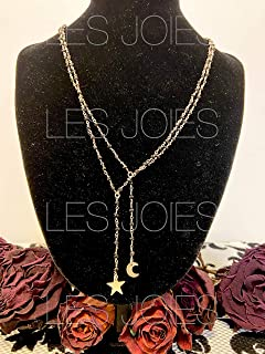 Collana catenina rosario in ottone con perline colore NERO