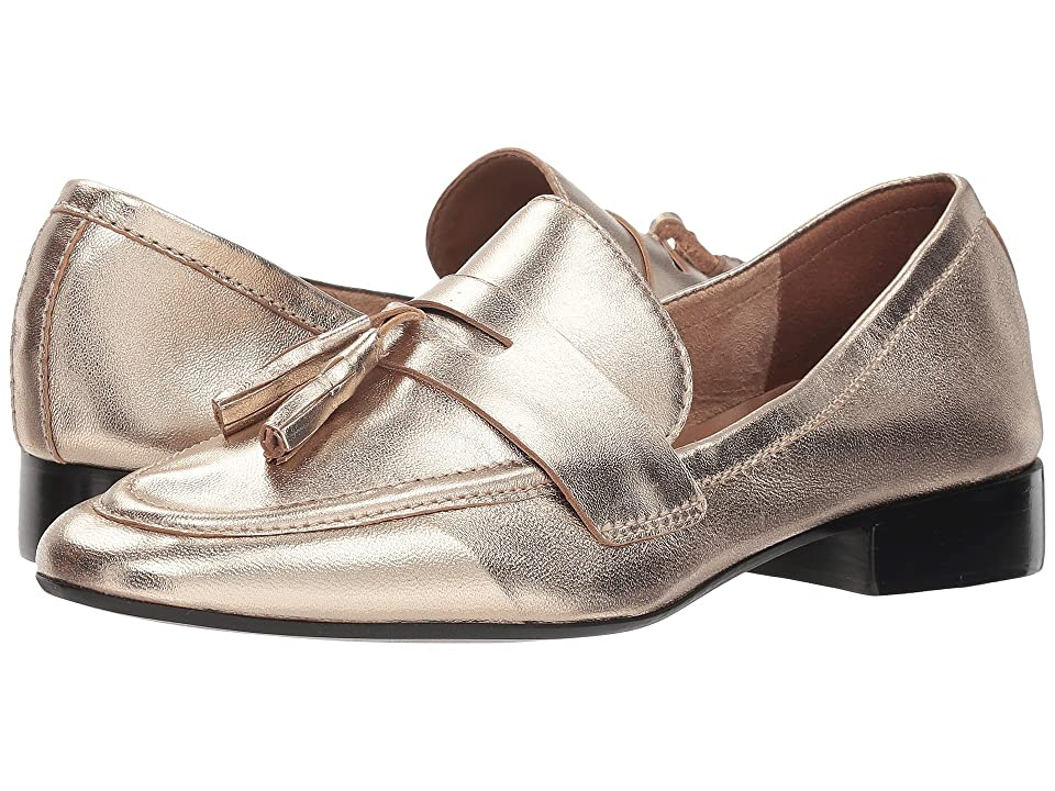 French Sole Chime Loafer (Platino Metallic) Women