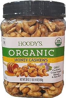 Hoody's Organic Honey Cashews 30oz