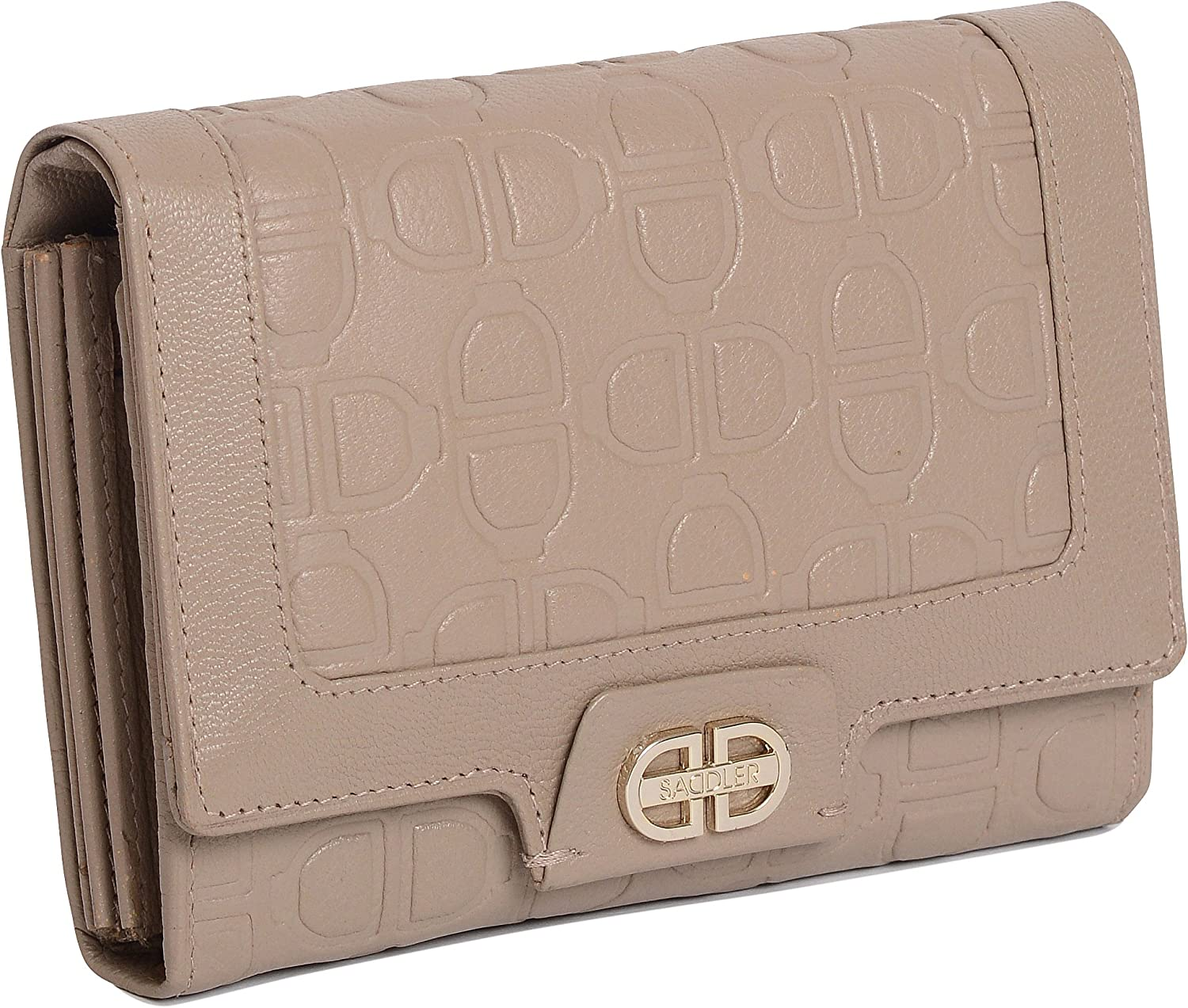SADDLER Womens Medium Leather Credit Purse with Coin Fashionable Product Wallet Card