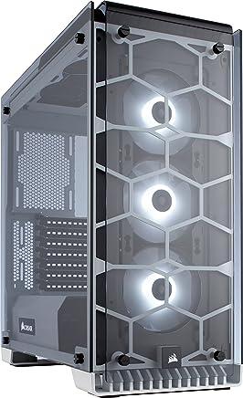 Corsair Crystal 570X Case da Gaming, Mid-Tower ATX, Finestra Laterale Vetro Temperato e Ventole, RGB LED, Bianco - Trova i prezzi più bassi