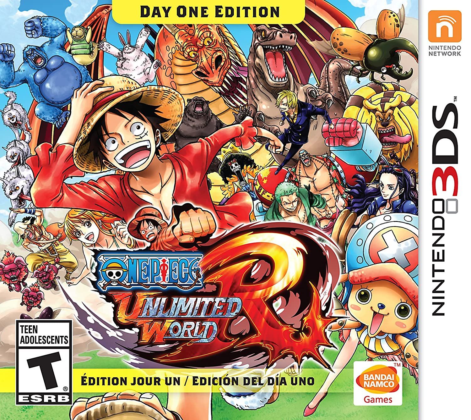 One Piece: Unlimited Easy-to-use World: Day Edition 5% OFF 3DS - Nintendo