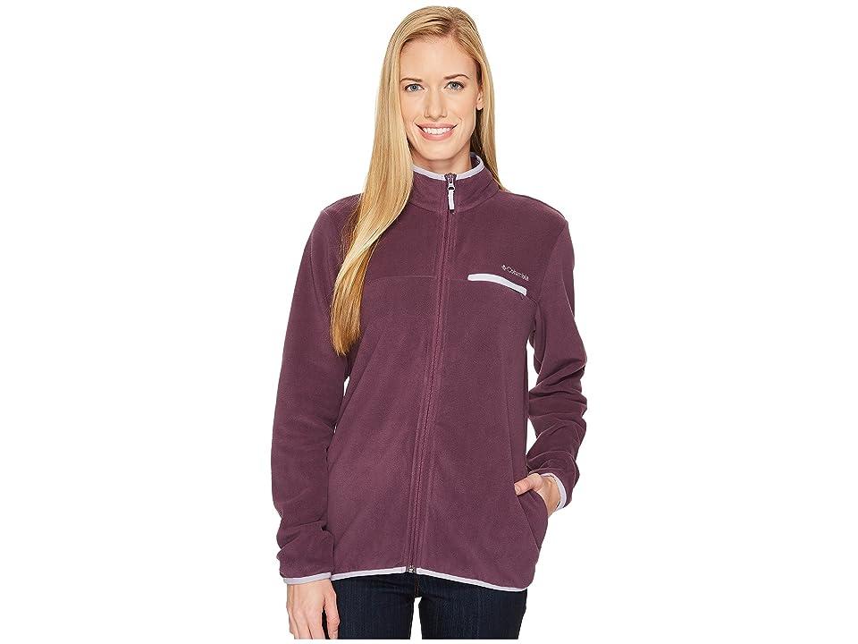 Columbia Mountain Crest Full Zip (Dusty Purple Heather/Twilight) Women