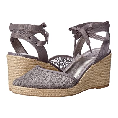 Adrianna Papell Pamela (Pewter Valencia Lace) Women