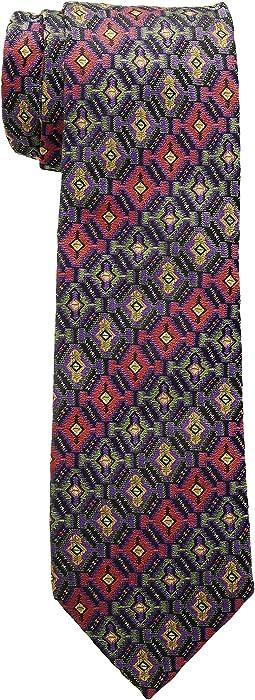 8cm Carpet Print Tie
