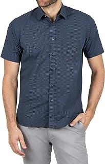 Blazer Men's Jerry Short Sleeve Printed Shirt