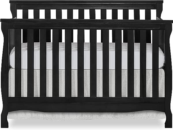 梦想在我身上 Keyport 5 合 1 敞篷车婴儿床黑色