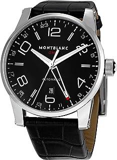 Montblanc - 36065 - Reloj para Hombres, Correa de Cuero Color Negro