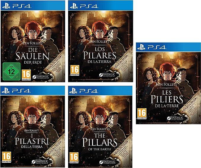TALLA PS4 Français. Ken Follett: Le Piliers de la Terre (PS4 Français)