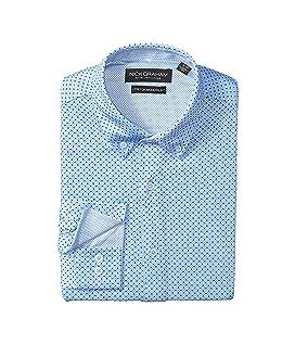 Circle Prints w/ Black Dots Knit Shirt