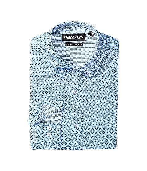 Knit Black Dots Blue Nick Shirt w Prints Graham Circle AxwAnYqTI