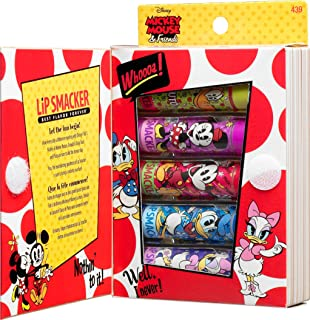 Lip Smacker Disney Story Book Mickey Mouse and Friends Lip Gloss Set, 5 Count